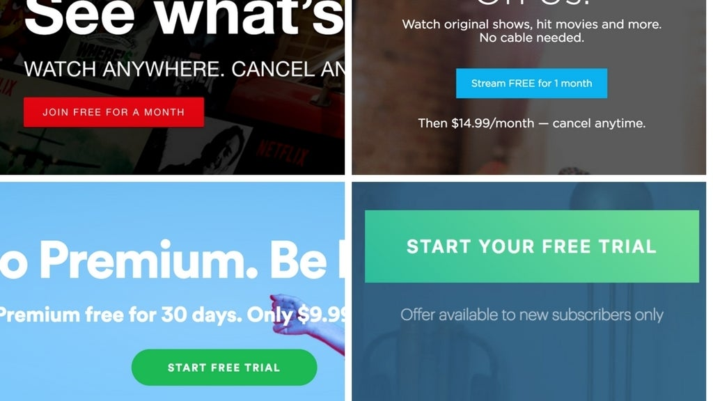 Set Calendar Alerts To Avoid Being Charged For Your 'Free' Trial