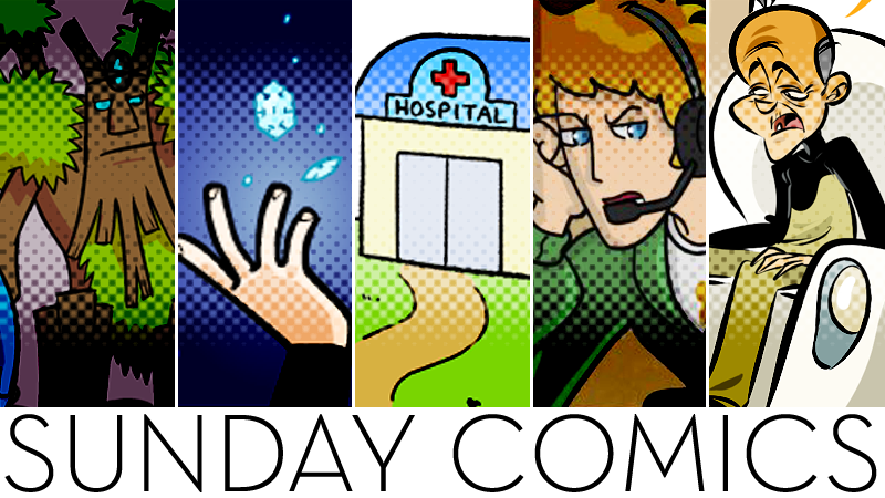 Sunday Comics: First Day?