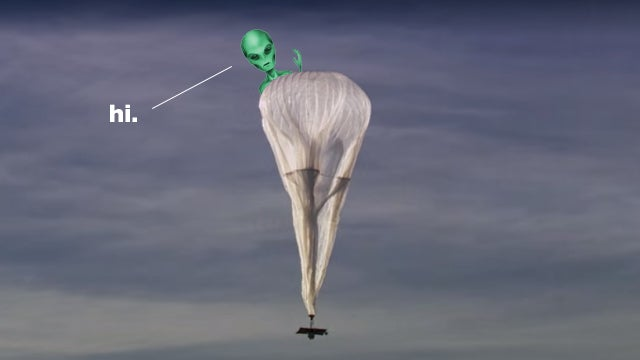 A Brief History of People Thinking Google's Loon Balloons Are UFOs