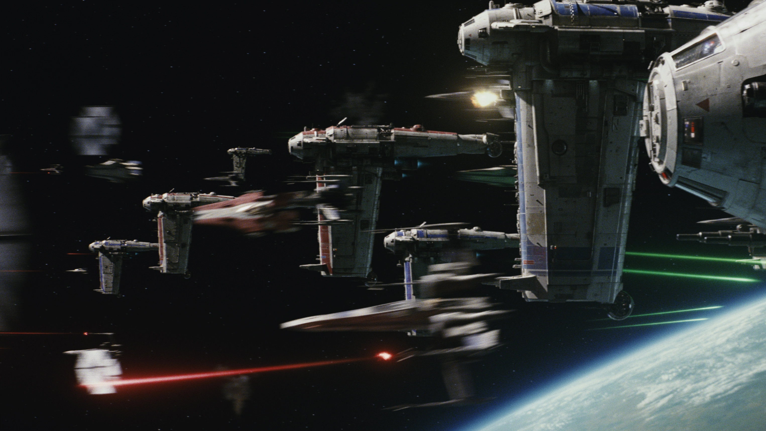 How The Last Jedi Made Star Wars Space Combat Legible