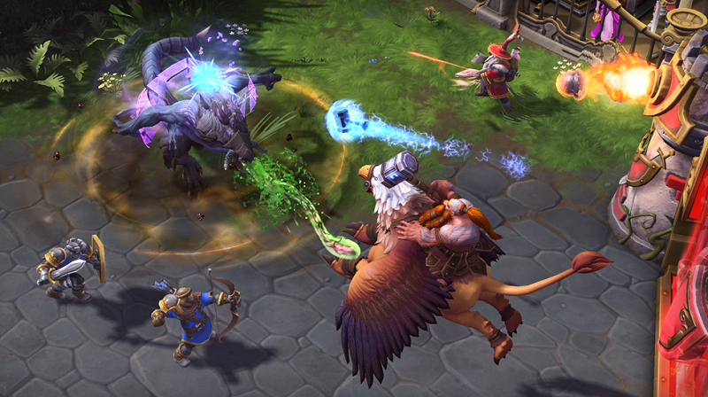 Heroes of the Storm Introduces Heroes Brawl Mode