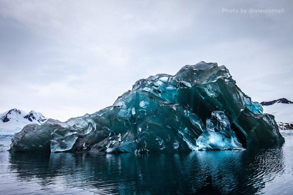 How I Shot an Upside-Down Glacier in Antarctica