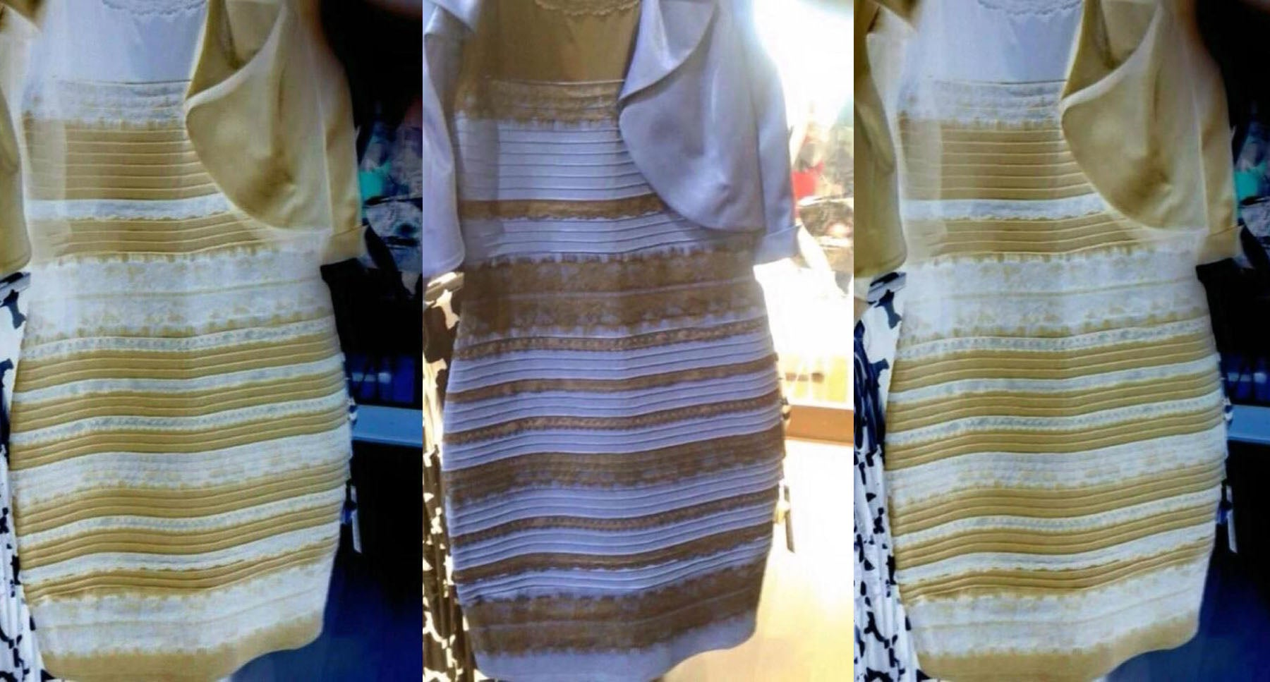 What The Hell Is Wrong With Your Eyes? A Dress Explainer