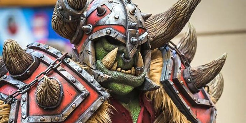 Giant Orc Cosplay May As Well Be Actual Giant Orc
