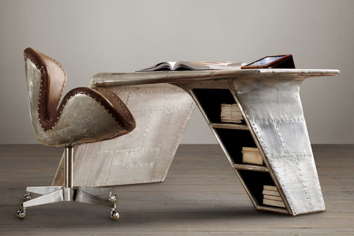 13 Designs That Bring Reclaimed Aeroplane Parts Into Your