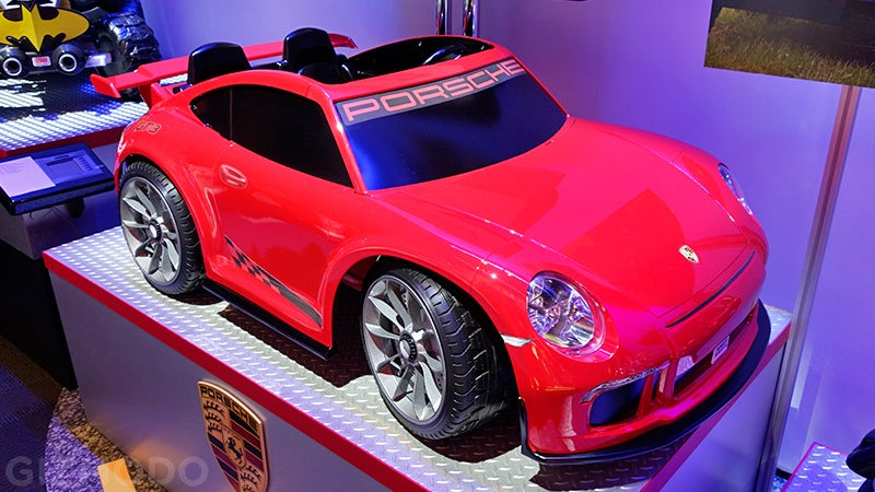Power Wheels Is Making Tiny Porsches Again