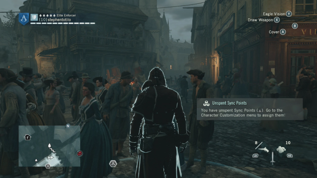 6.7GB Assassin's Creed Unity Patch Issued To Fix Framerate, Other Stuff