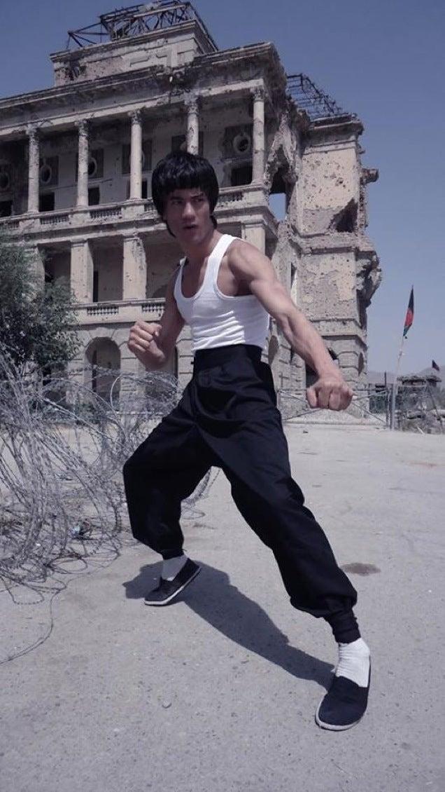 Damn, This Afghan Guy Looks Like Bruce Lee