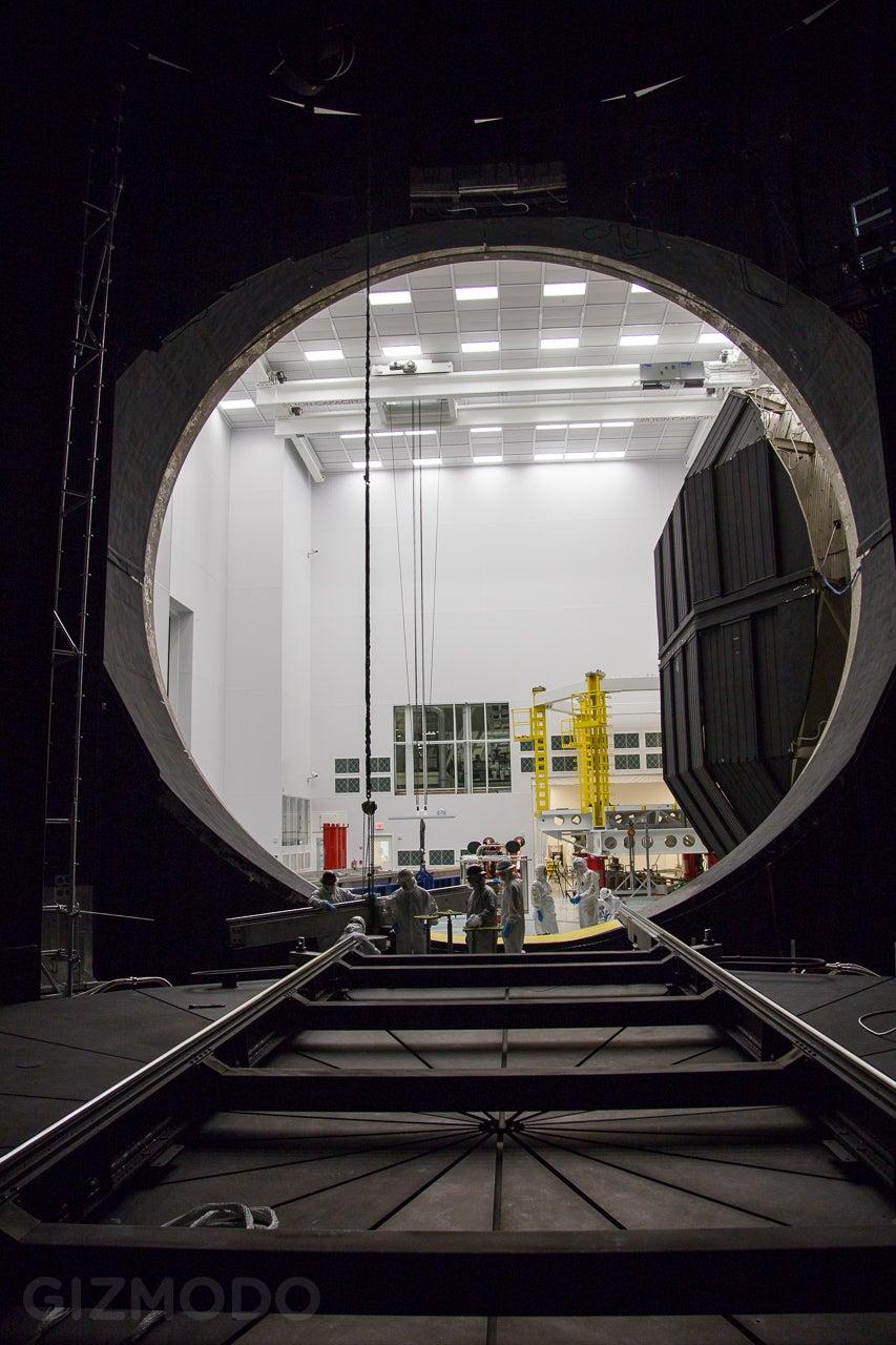 Inside the Chamber Where NASA Recreates Space on Earth