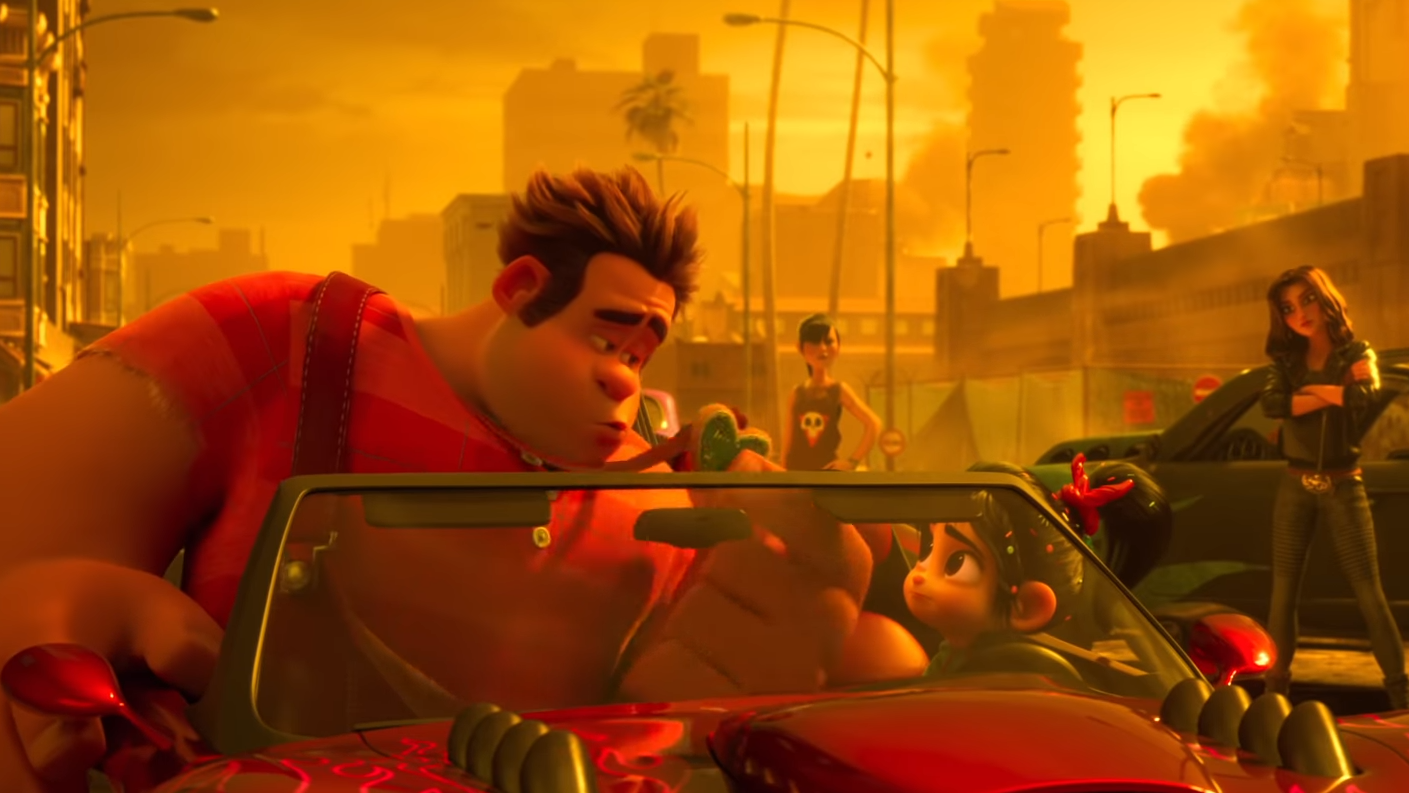 New Footage For Ralph Breaks The Internet Races Online, Brings More Disney Princesses