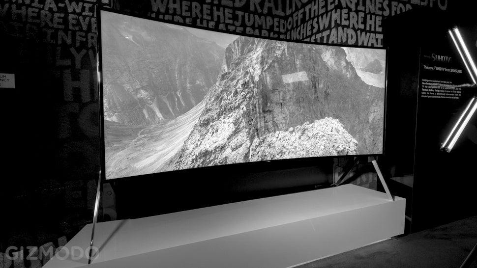 Farewell, Curved TVs (Almost)
