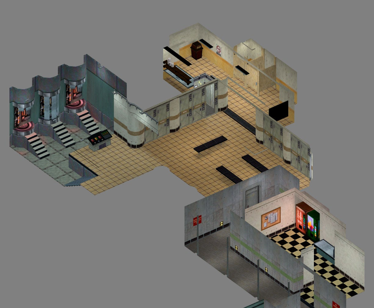 Half-Life Reimagined As An Isometric Game