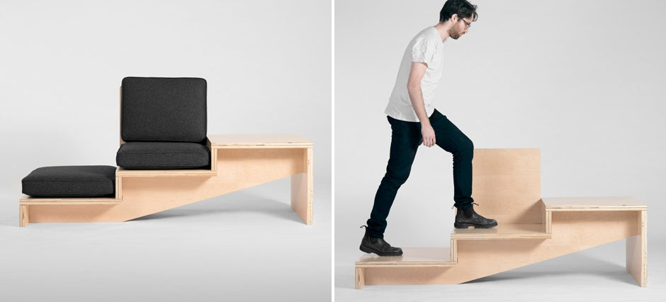 If You Love Sitting on Stairs, This Is the Sofa For You