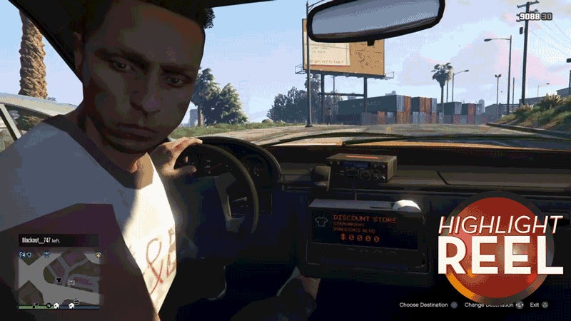 GTA Cabbie Should Probably Keep His Eyes On The Road