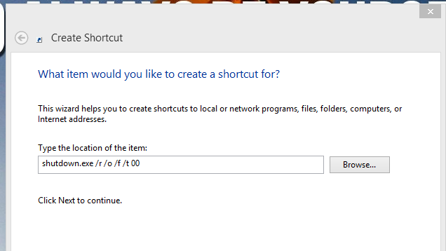 Access Windows 8's Advanced Startup Utility with a Simple Shortcut