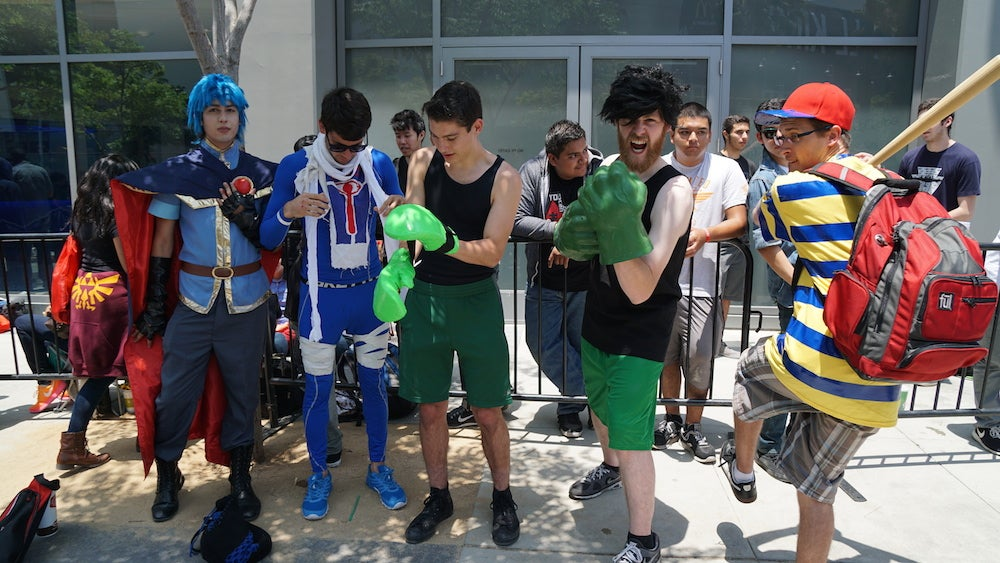 Thousands Are Lining Up To See The New Smash Bros.