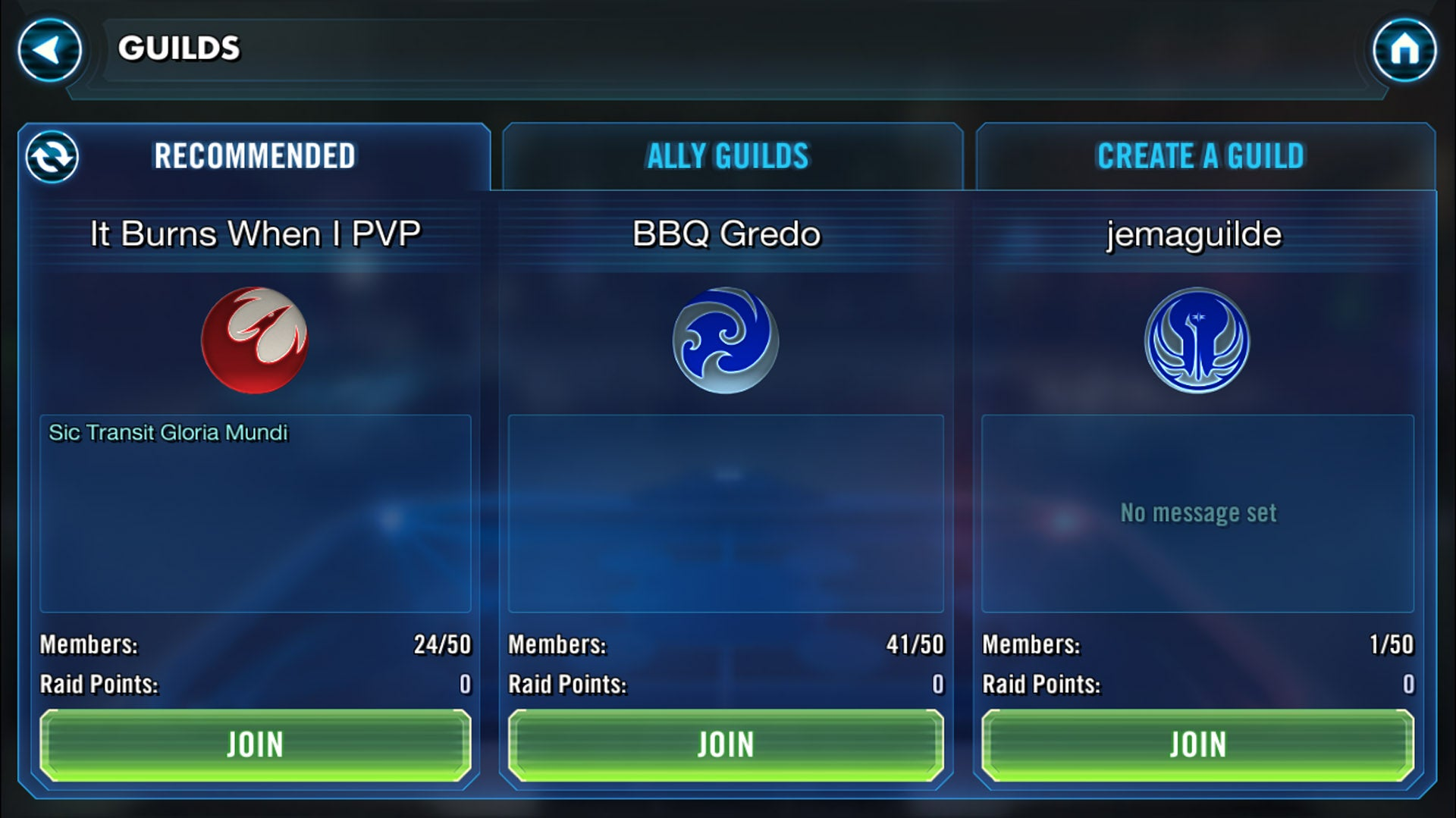 Star Wars: Galaxy Of Heroes Gets Guilds, Raids And Huge PvPness