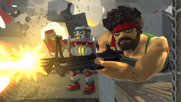 Block'n'Load Mixes Minecraft with Team Fortress 2