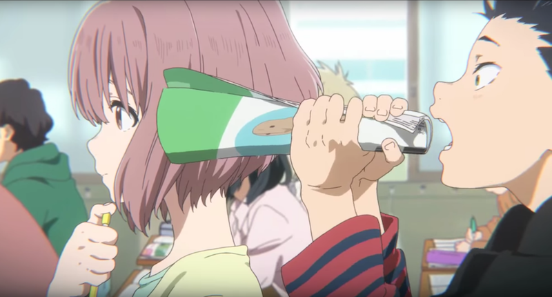 A Deaf Girl Meets Her Former Bully In A Silent Voice