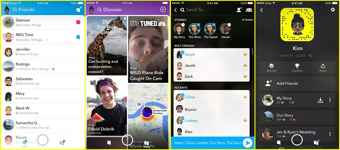 Here Is Snapchat's 'Disruptive' New Redesign