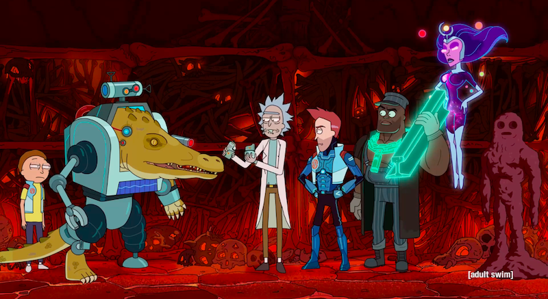 Rick And Morty's Answer To The Avengers Deserve Their Own TV Show