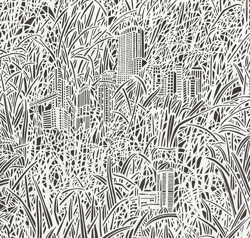 Insanely detailed hand-cut illustrations on rice paper