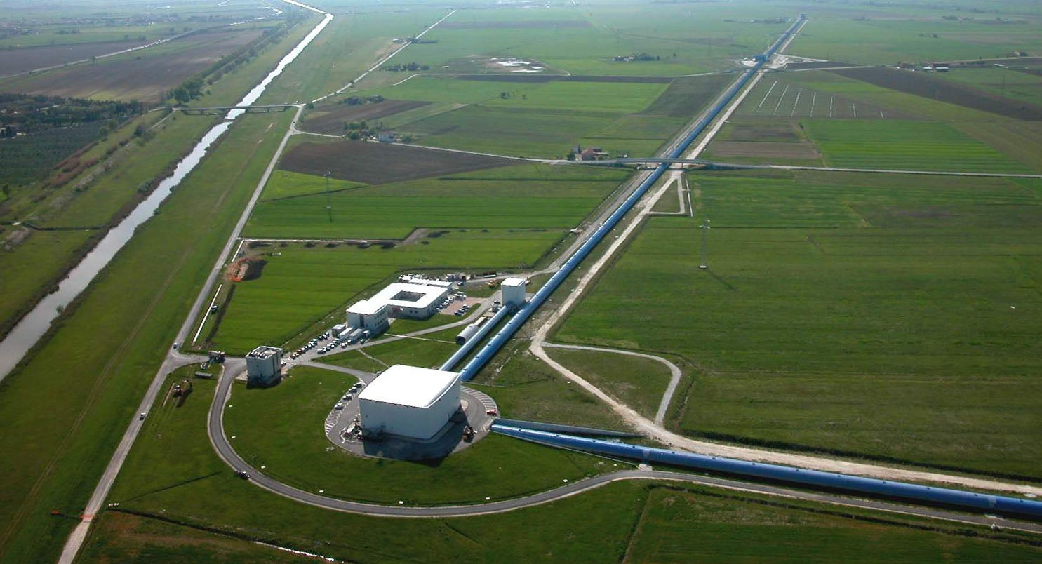 A New Gravitational Wave Detector Makes Its First Discovery