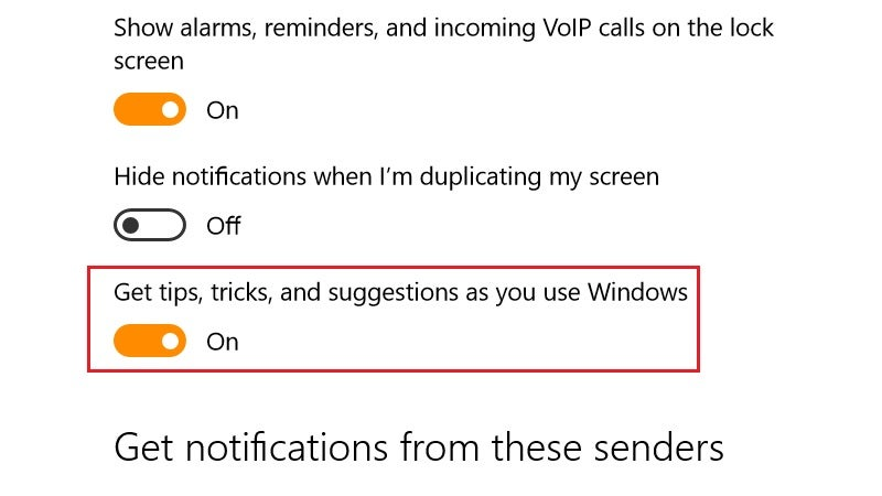 Disable Those Annoying Taskbar Pop-Up Suggestions In Windows 10