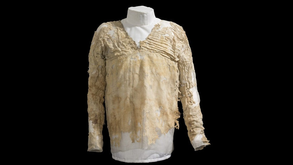 This Threadbare Garment Is Officially the World's Oldest Dress