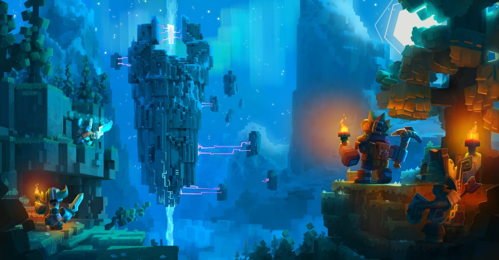 Skysaga is Minecraft Meets Bastion, And it Looks Great