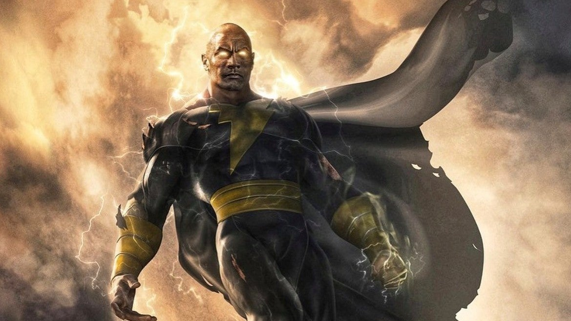 The Rock's Black Adam Film Finally Gets A Release Date