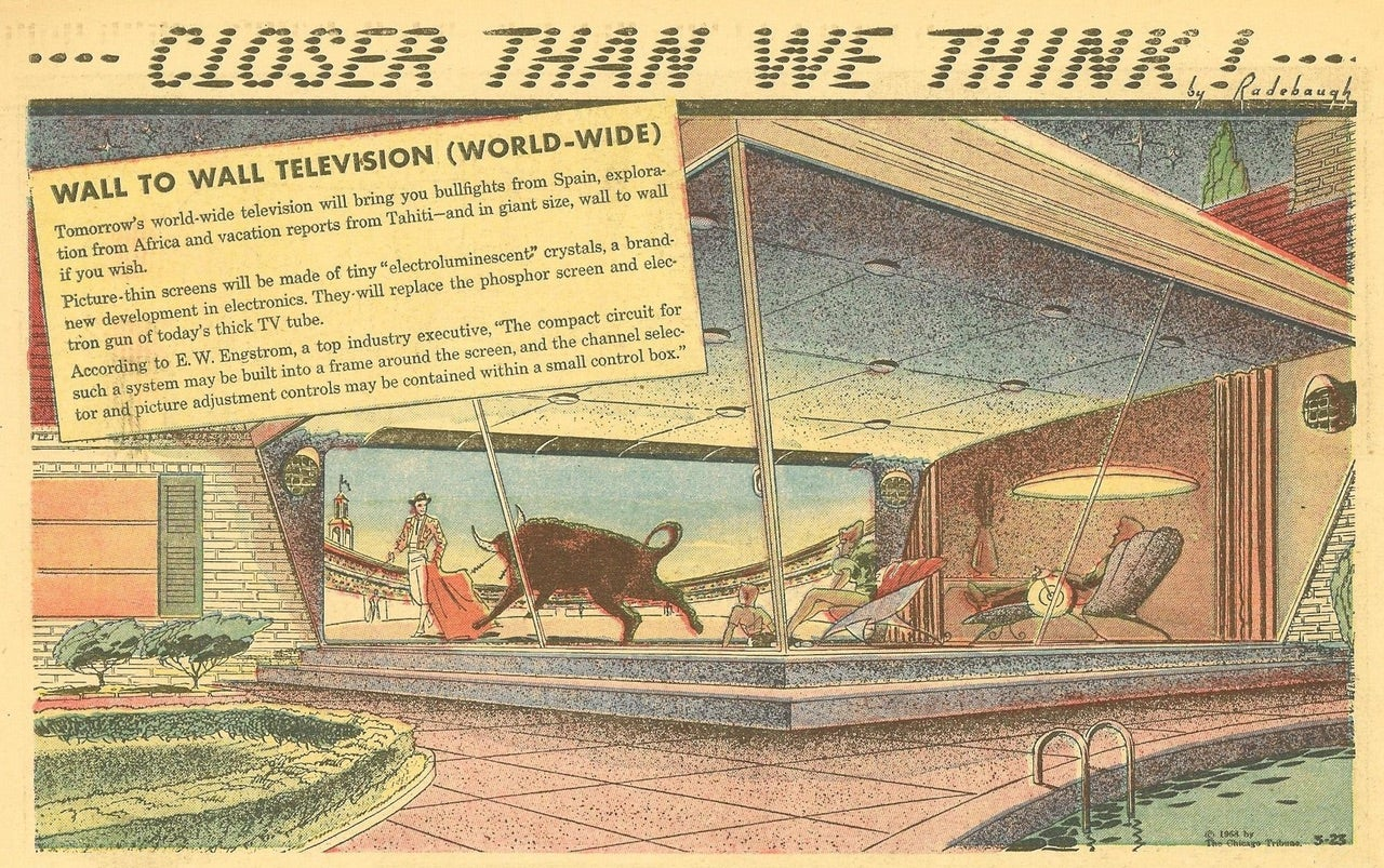 When Will 1958's World-Wide TV Of The Future Finally Get Here?