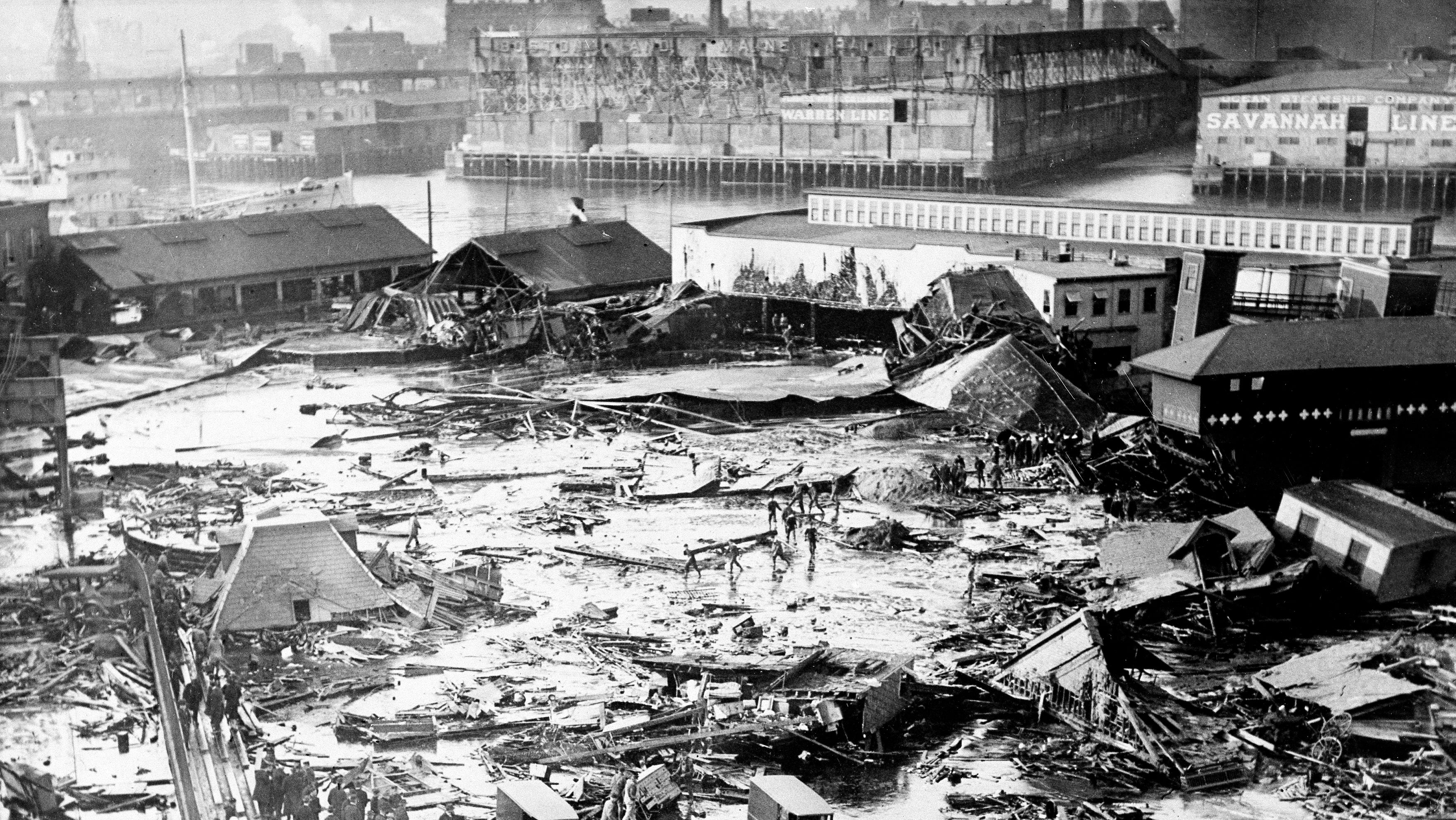 Researchers Dig Into Boston's Mysterious'Tsunami Of Molasses'