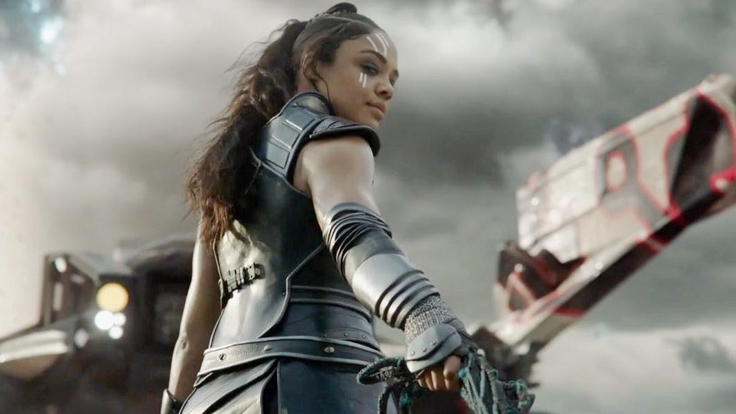 The World Is Poorer For Not Having Witnessed Thor: Ragnarok's Valkyrie Wield These Badarse Weapons