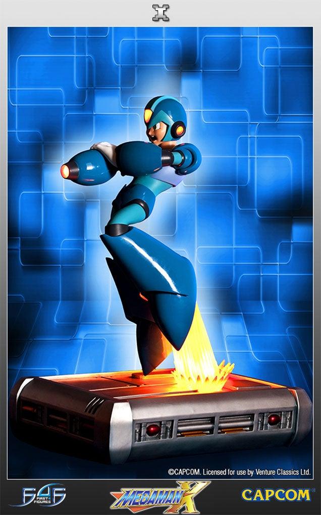 Mega Man X Makes A Much Cooler Statue Than The Original