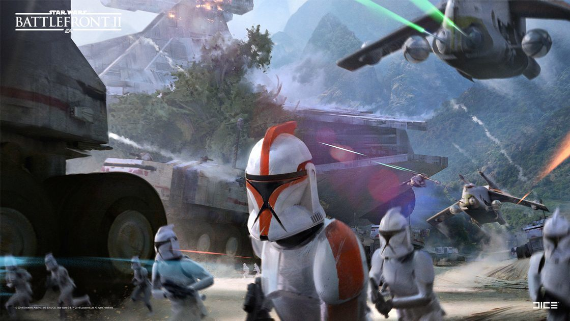 This Star Wars Battlefront II Concept Art Is Almost As Pretty As The Game Itself