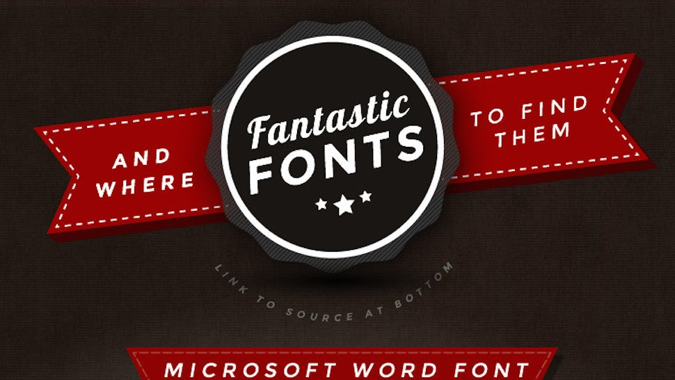 This Graphic Offers Good-Looking Fonts to Replace Dull, Overused Ones