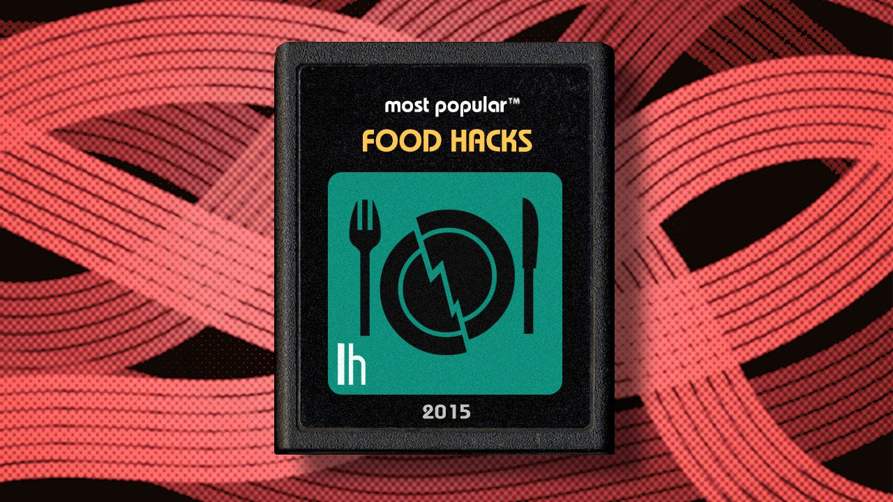 Most Popular Food Hacks of 2015