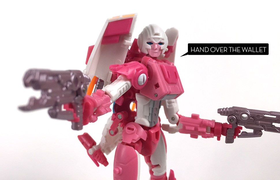 My First Third-Party Transformer Is A Complicated Woman