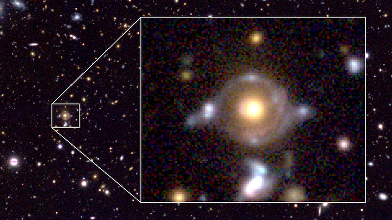 There's Something Very Strange Surrounding This Galaxy
