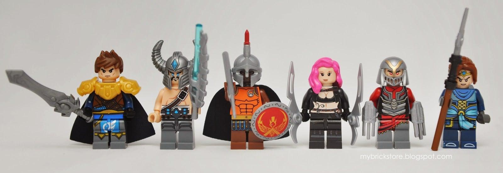 Fake League of Legends LEGO Looks Awesome