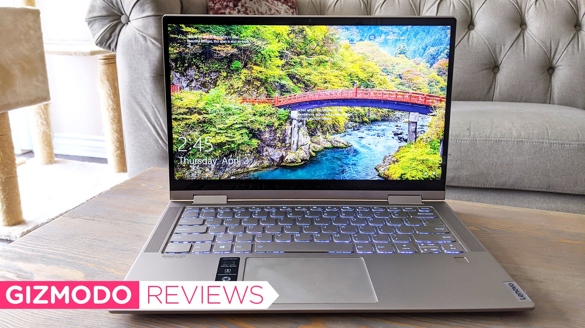 Lenovo's Yoga C740 Is A Damn Good Laptop For Under $1,600