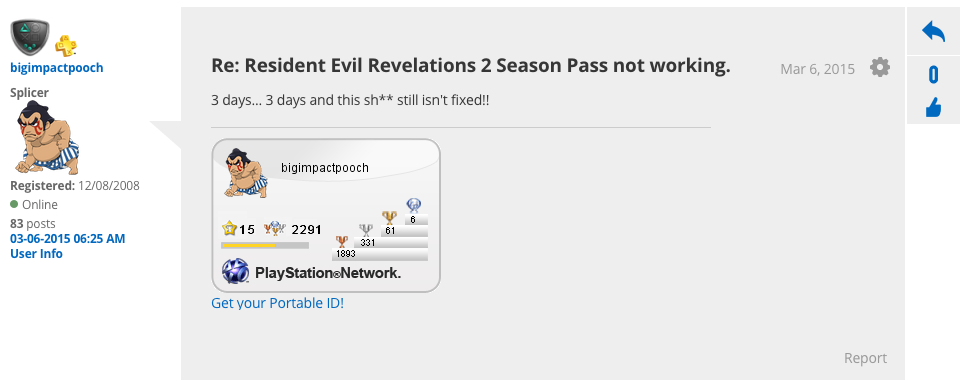 Something's Wrong With Resident Evil's Season Pass On PS4 (UPDATE)