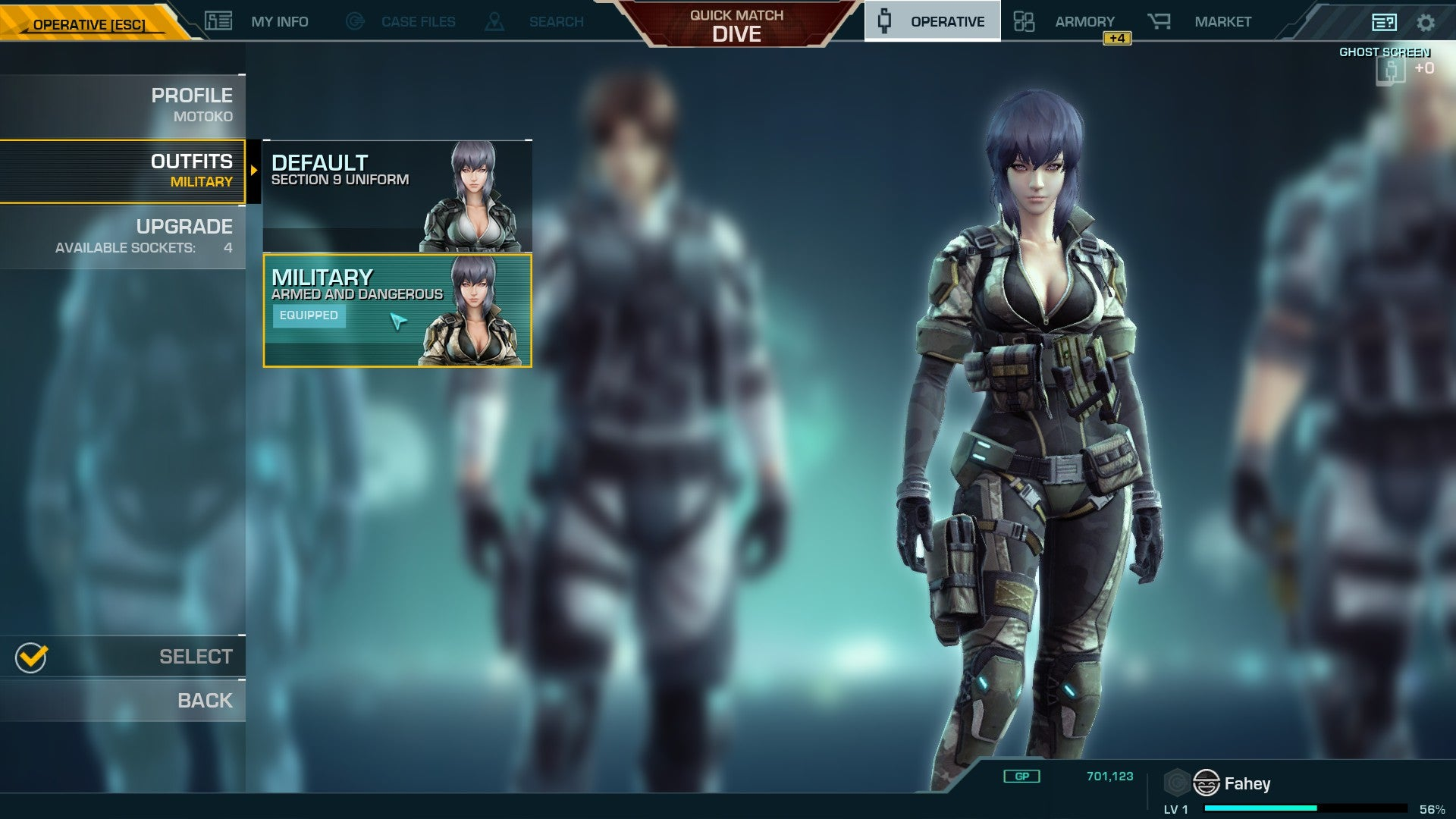 The Best Part Of The Ghost In The Shell Shooter So Far Is The Tutorial