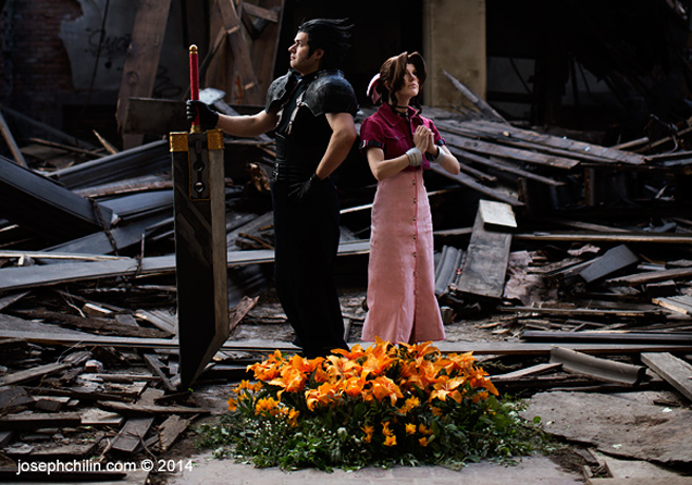 Couple Uses Abandoned Church For Perfect Final Fantasy Cosplay