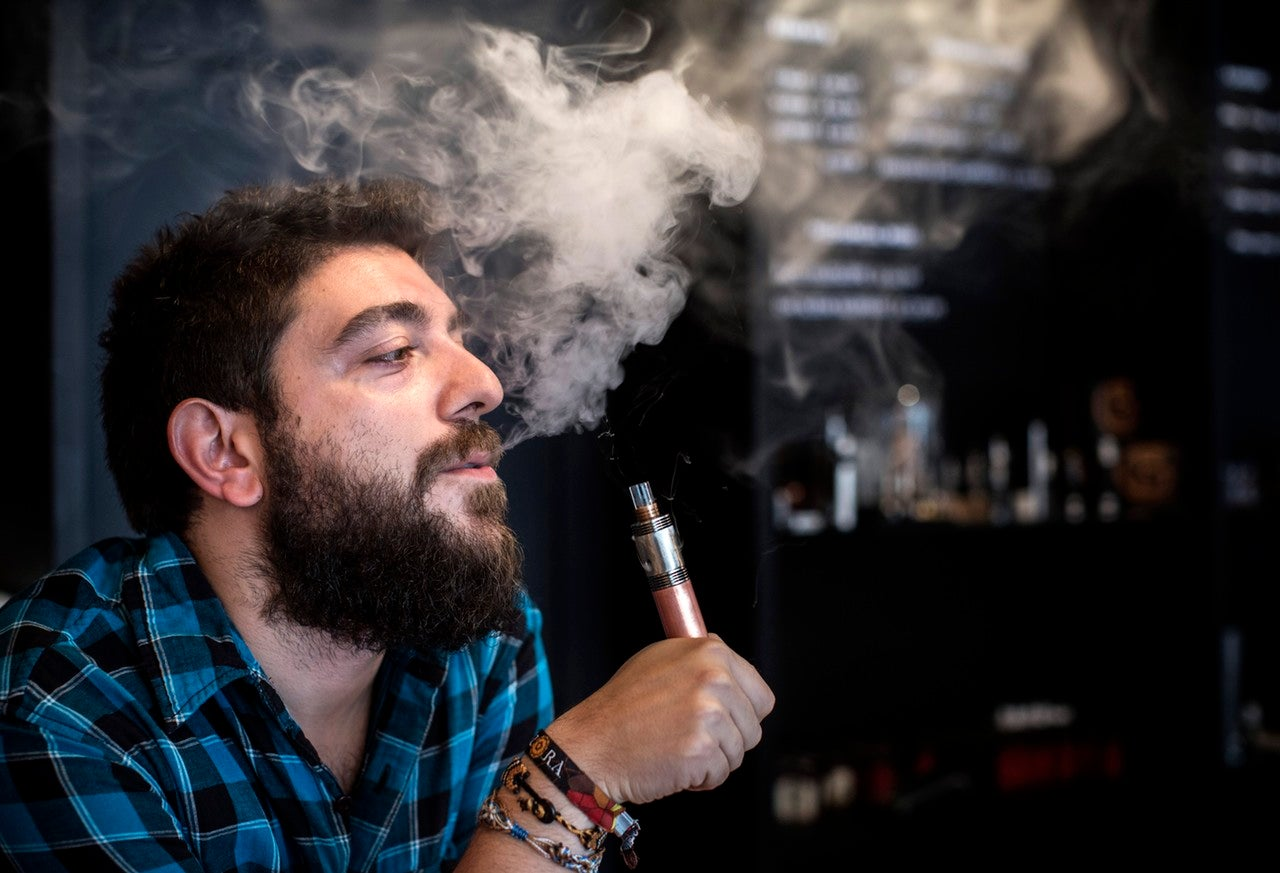 The Oxford Dictionaries 2014 Word of the Year is 'Vape'