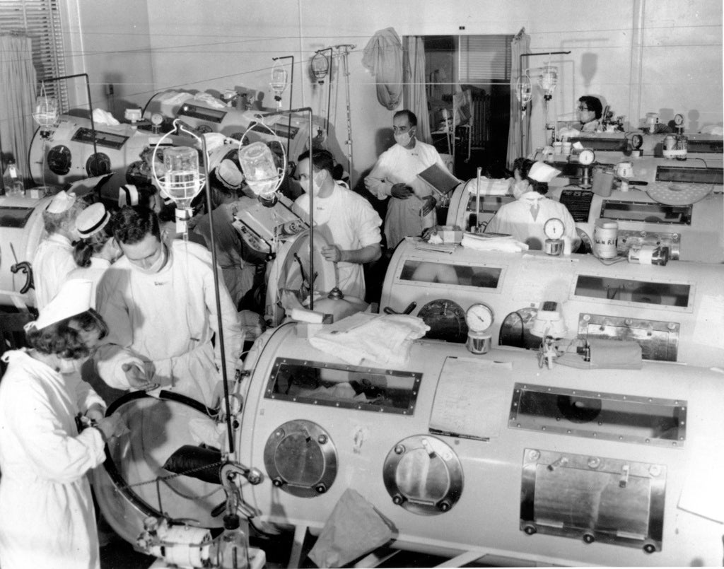 The last of the iron lungs gizmodo australia for Polio transmission swimming pools