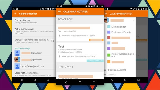 Calendar Events Notifier Nags You About Your Important Meetings