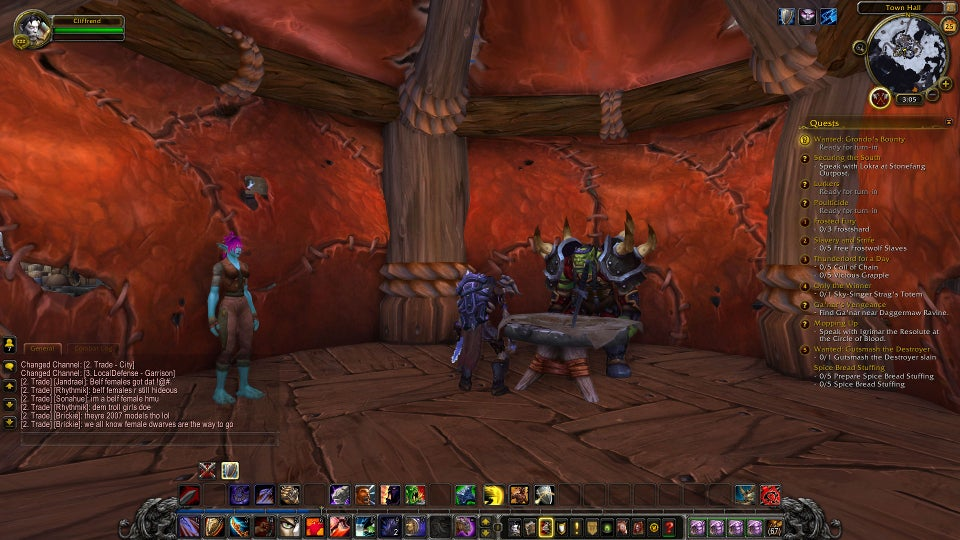 World of Warcraft's New Dude Blood Elves Literally Have No Butts