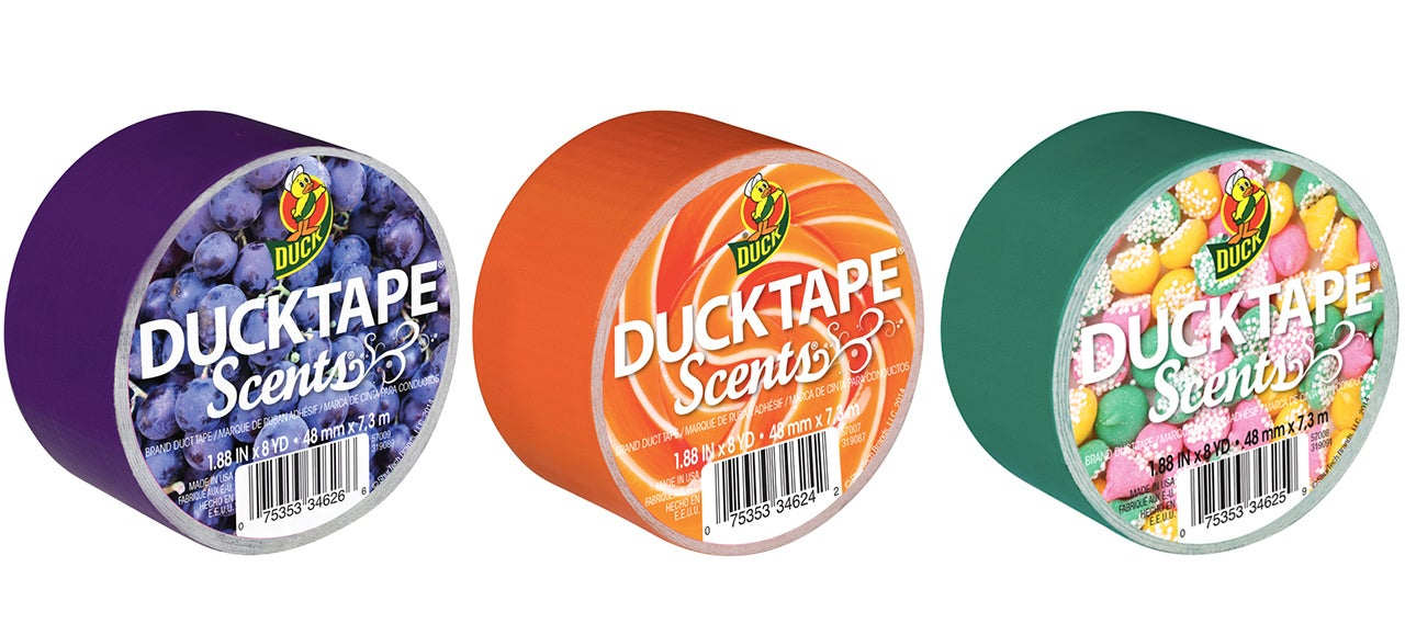 Scented Duct Tape For Half-Arsed Repairs That At Least Smell Good